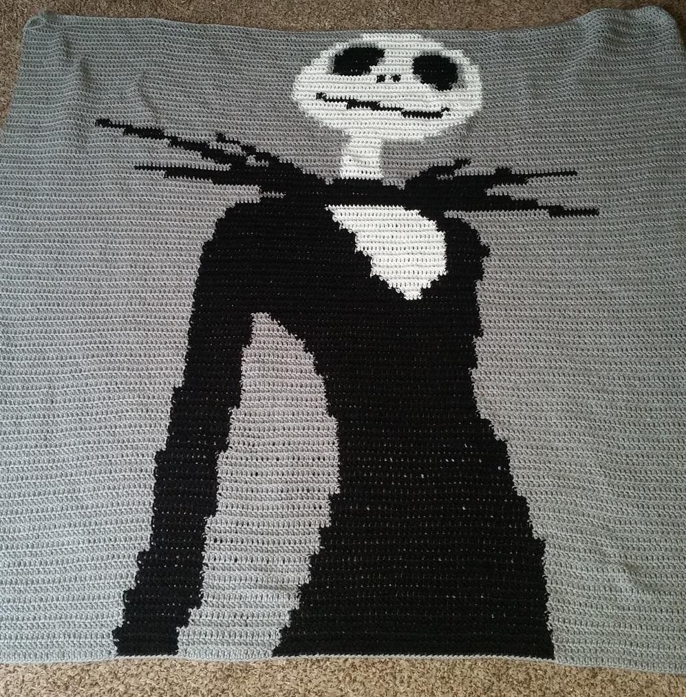 Jack Skellington Free Crochet Pattern • Spin a Yarn Crochet | 1013x997
